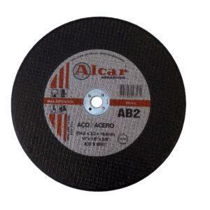 DISCO DE CORTE AB-2 ( 2 TELAS ) 254MM ( 10″ ) ALCAR