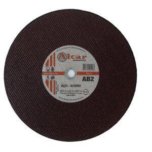 DISCO DE CORTE AB-2 ( 2 TELAS ) 406,4MM ( 16″ ) ALCAR