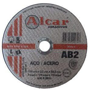 DISCO DE CORTE AB-2 ( 2 TELAS ) 178MM ( 7″ ) ALCAR