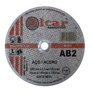 DISCO DE CORTE AB-2 ( 2 TELAS ) 228MM ( 9″ ) ALCAR