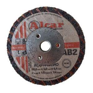 DISCO DE CORTE AB-2 ( 2 TELAS ) 50,8MM ( 2″ ) ALCAR