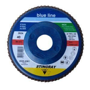 DISCO FLAP BLUE LINE 115MM ( 4 1/2″ ) S.I.A.