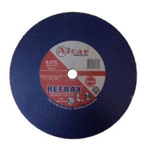 DISCO DE CORTE REFRAX ( 2 TELAS) 254MM ( 10″ ) ALCAR