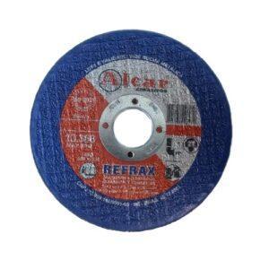 DISCO DE CORTE REFRAX ( 2 TELAS ) 115MM ( 4 1/2″ ) ALCAR