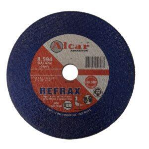 DISCO DE CORTE REFRAX ( 2 TELAS ) 178MM ( 7″ ) ALCAR