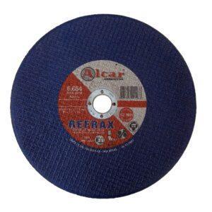 DISCO DE CORTE REFRAX ( 2 TELAS ) 228MM ( 9″ ) ALCAR