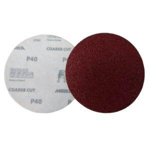 DISCO C/ VELCRO COARSE CUT 125MM – 5″ MIRKA