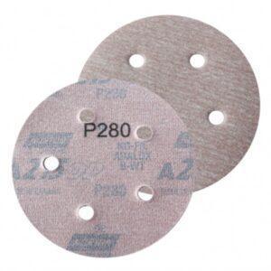 DISCO C/ VELCRO ROQUITE A275 125MM – 5″ NORTON