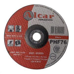 DISCO DE DESBASTE PHF76 178MM ( 7″ ) ALCAR