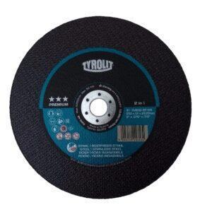 DISCO DE CORTE FINO PREMIUM A46Q-BFKA ( 2 TELAS ) 230MM ( 9″ ) TYROLIT