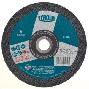 DISCO DE CORTE FINO BASIC A46Q-BF 178MM ( 7″ ) TYROLIT